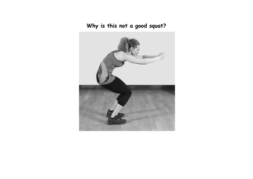 Spoof assessment: how not to do a range of strength exercises