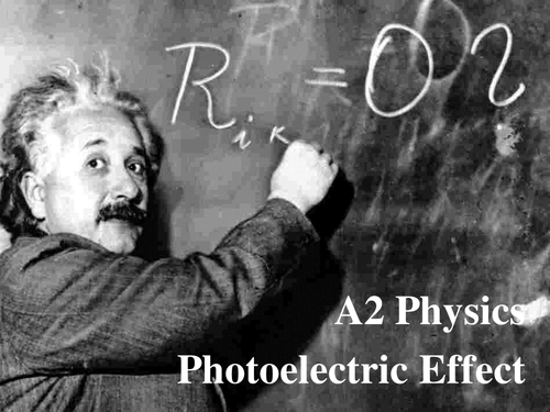 A Level Physics Photoelectric Effect