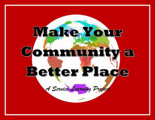 Give Back to Your Community: A Service Learning Project