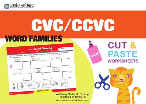 CVC 2 - Extra Worksheets by macdaddy - Teaching Resources - Tes