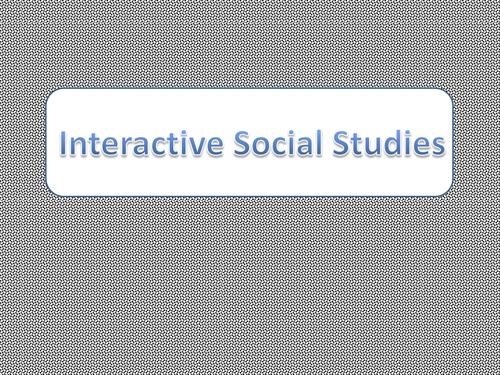 Interactive Social Studies Interactive Notebook