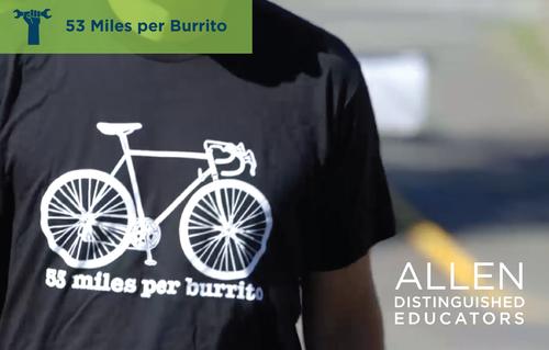 53 Miles per Burrito