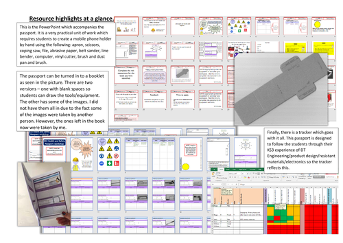 ks3 dt health and safety passport for engineering product design