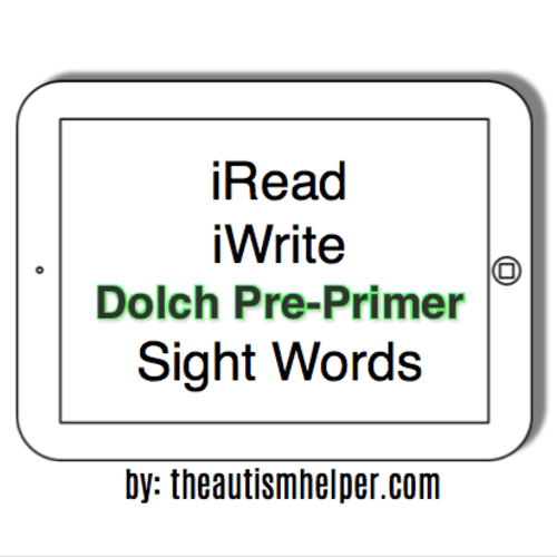 iRead Dolch Pre-Primer Sight Words - Worksheets & Flashcards by ...