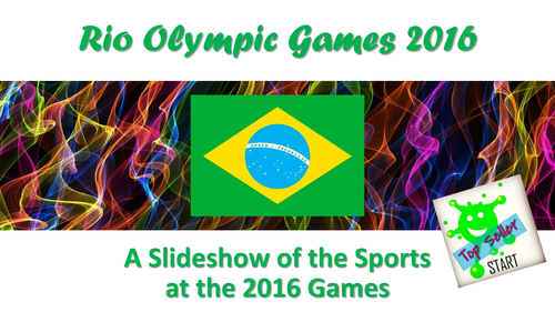 Rio Olympic Games 2016. Slideshow of all the sports