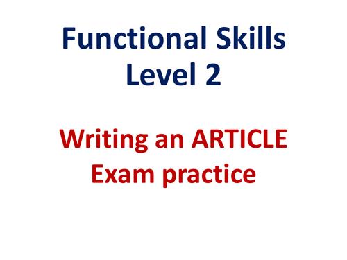 Functional skills english level 2 edexcel writing exam for English home magazine customer service