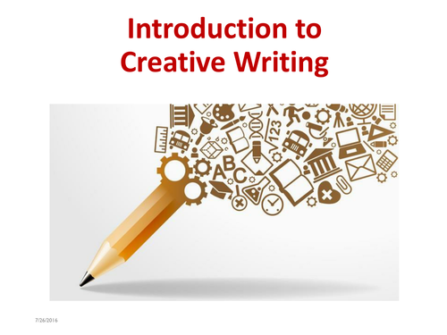 teaching opening towards creative writing