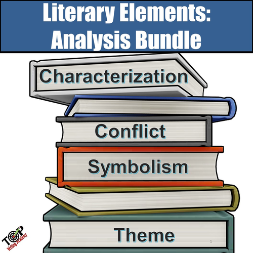 Literary Elements Analysis Bundle