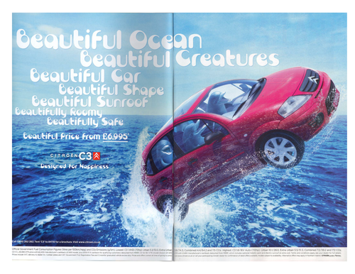 English Non-Fiction: Understanding Language and Presentational Features in an Advert
