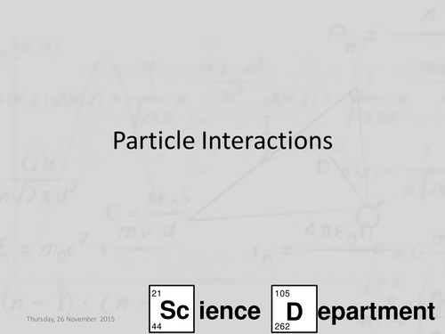 AQA A-Level Physics Chapter 1 Particles and radiation