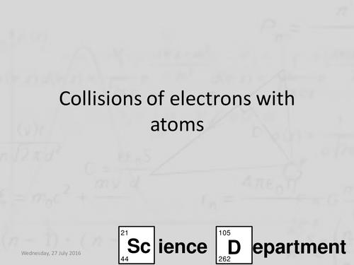 AQA A-Level Physics Chapter 3 Quantum Phenomena