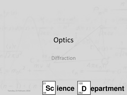 AQA A-Level Physics Refraction Diffraction and Interference