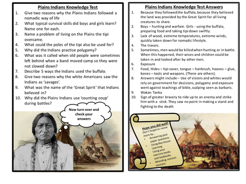 American West Knowledge Tests