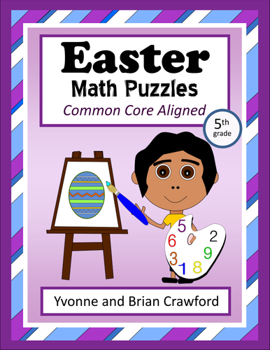 Easter Math Puzzles - 5th Grade