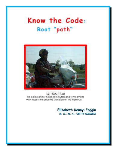 Know the Code: Greek Root - path