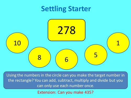 Multiplication using chinese grid method