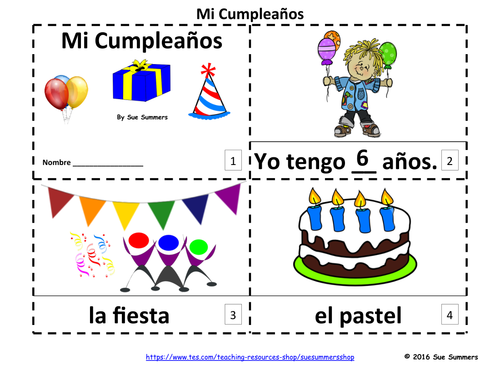 Birthday 2 Emergent Reader Booklets - My Birthday by ... - photo#27