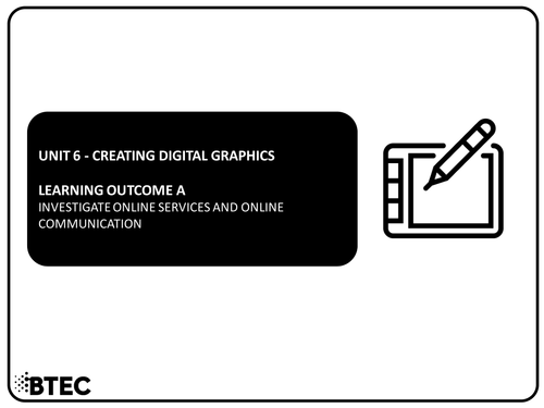 Unit 6 - Creating Digital Graphics - BTEC Level 1 & 2 Diploma in Information & Creative Technology