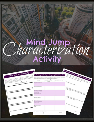 Characterization & Point of View:  A Mini-lesson on Getting into a Character's Mind