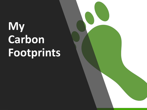 My Carbon Footprint ( How much are you adding to Global Warming?)