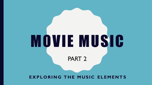 Movie Music Part 2 - Fun focused listening using film trailer clips