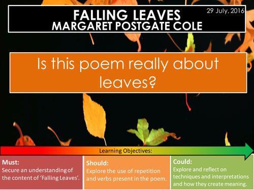 Falling Leaves - Margaret Postgate Cole