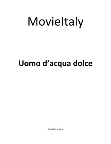 MovieItaly: Uomo d'acqua dolce