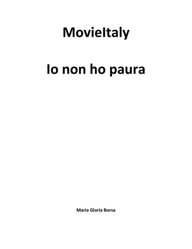 MovieItaly: Io non ho paura