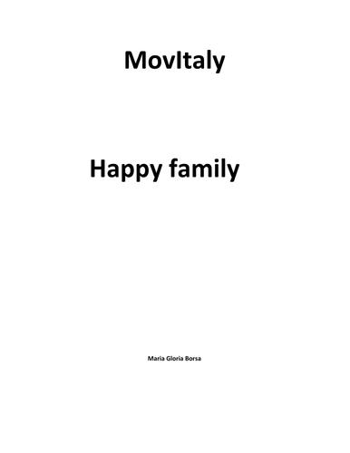 MovieItaly: Happy Family (Gabriele Salvatores)