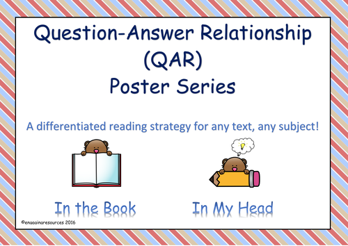Question-Answer Relationship – Reading Strategy