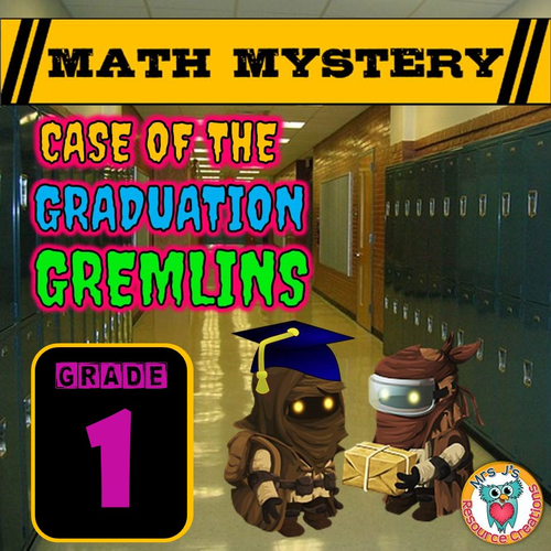 End of Year Math Mystery (GRADE 1)