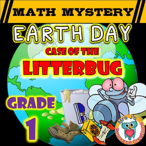 Earth Day Math Mystery (GRADE 1)