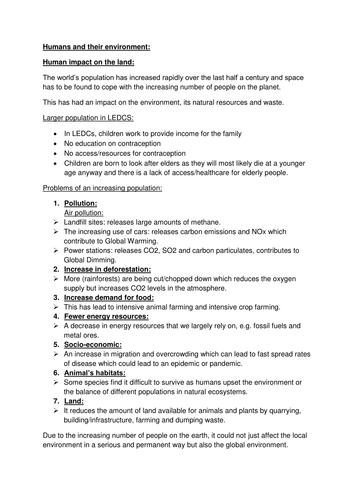 Aqa gcse science bbc bitesize revision checklist by lauh88 gcse aqa biology unit 3 notes urtaz Images