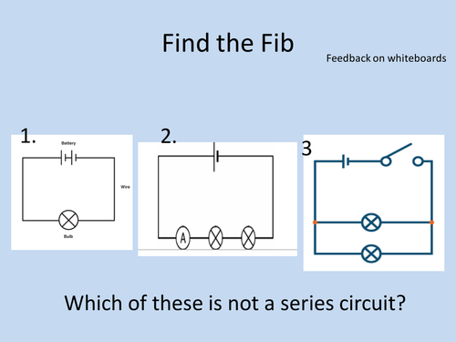 The ear by cet08 teaching resources tes current and parallel circuits ks3 electricity ccuart Gallery