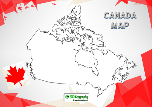 Canadian geography activities