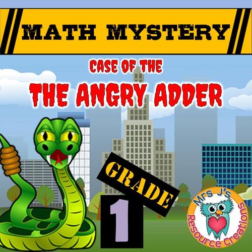 Addition Math Mystery (GRADE 1)