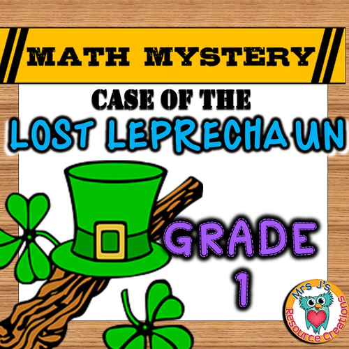 St Patrick's Day Math Mystery (GRADE 1)