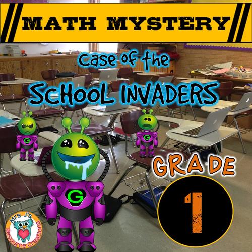 Back to School Math Mystery (GRADE 1)