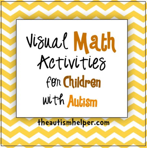 Visual Math Activities For Children With Autism By Theautismhelper