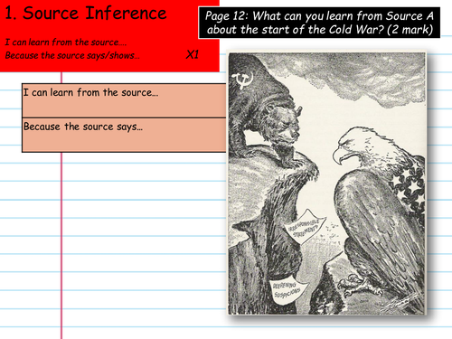 The Cold War (SOW) (20/25 lessons) Start/ Middle/ End (1945-1991) (Student work book included)