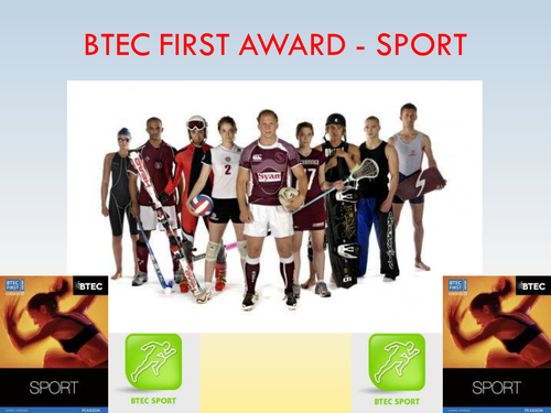BTEC Sport Level 2 - Unit 5 PowerPoint Presentation