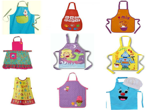 Year 9 (GCSE Textiles) Children's Aprons