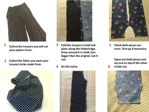 Year 9 (GCSE Textiles) Pyjama Bottoms