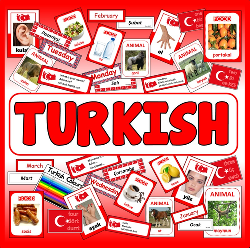 TURKISH LANGUAGE TEACHING RESOURCES GEOGRAPHY DISPLAY EAL EUROPE ASIA TURKEY