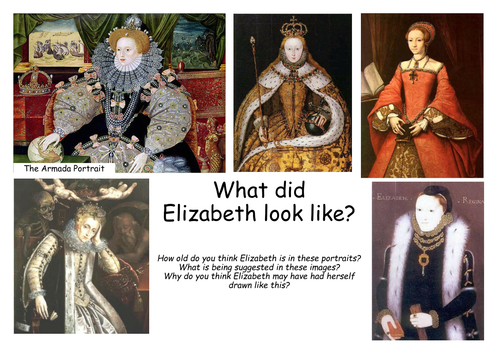 Elizabeth I SOW (12/15 lessons) (with SEN alternatives)