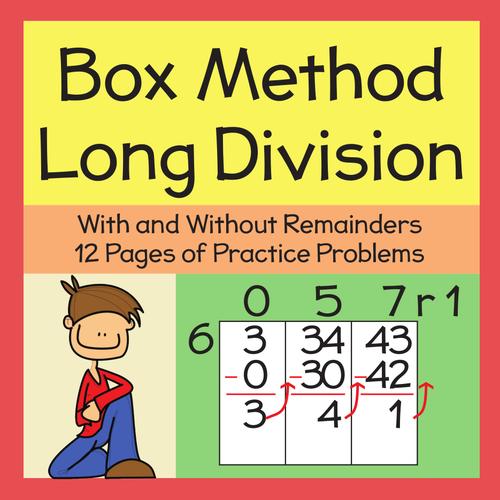 Box Method Multiplication Worksheet – Box Method Multiplication Worksheet