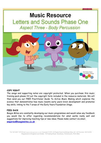 Letters And Sounds Phase One Aspect