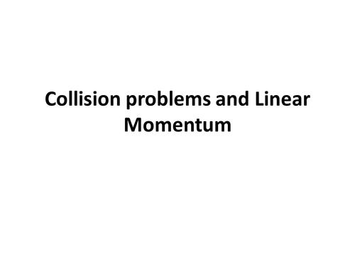 Momentum lesson 1