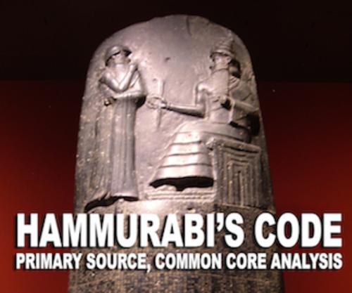 Hammurabi's Code Primary Source Analysis