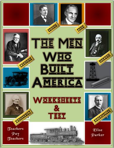 the men who built america worksheets entire series final test pdf format by. Black Bedroom Furniture Sets. Home Design Ideas